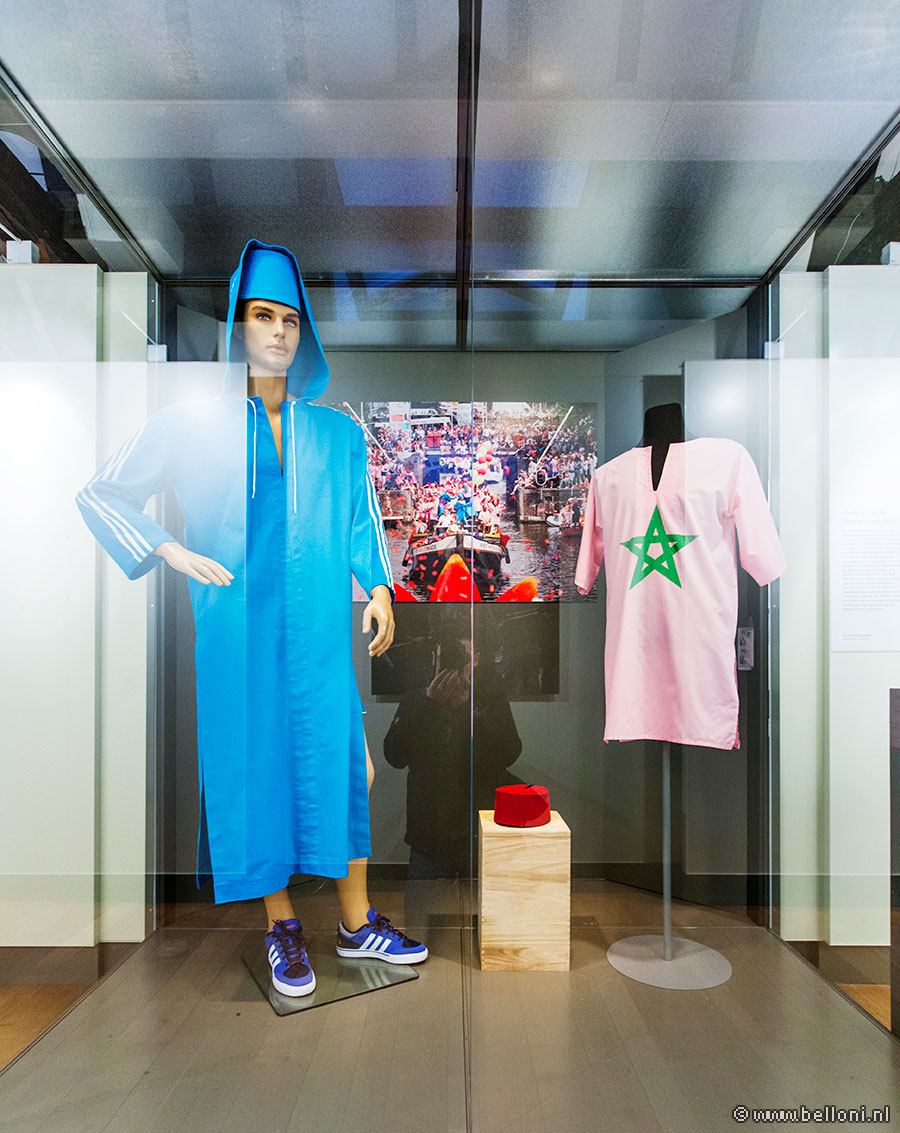 Marokkaanse Boot in Amsterdam Museum, costumes by Corné Gabriëls