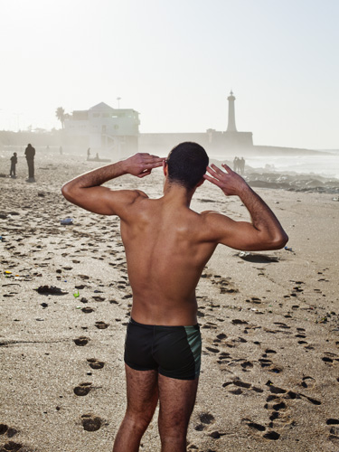 Morocco, Rabat, 09 February 2012. Portrait Brahim, photo series I Am Gay and Muslim project by dutch foundation Stichting art.1. Photo: Bram Belloni / (c) 2012, www.belloni.nl - CREDIT MANDATORY: Bram Belloni for Stichting art.1 (Bram Belloni)