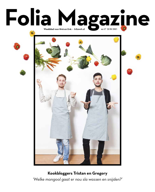 Folia Magazine 17-2014/2015, Cover photography: Bram Belloni, art direction: Vruchtvlees. (Bram Belloni)