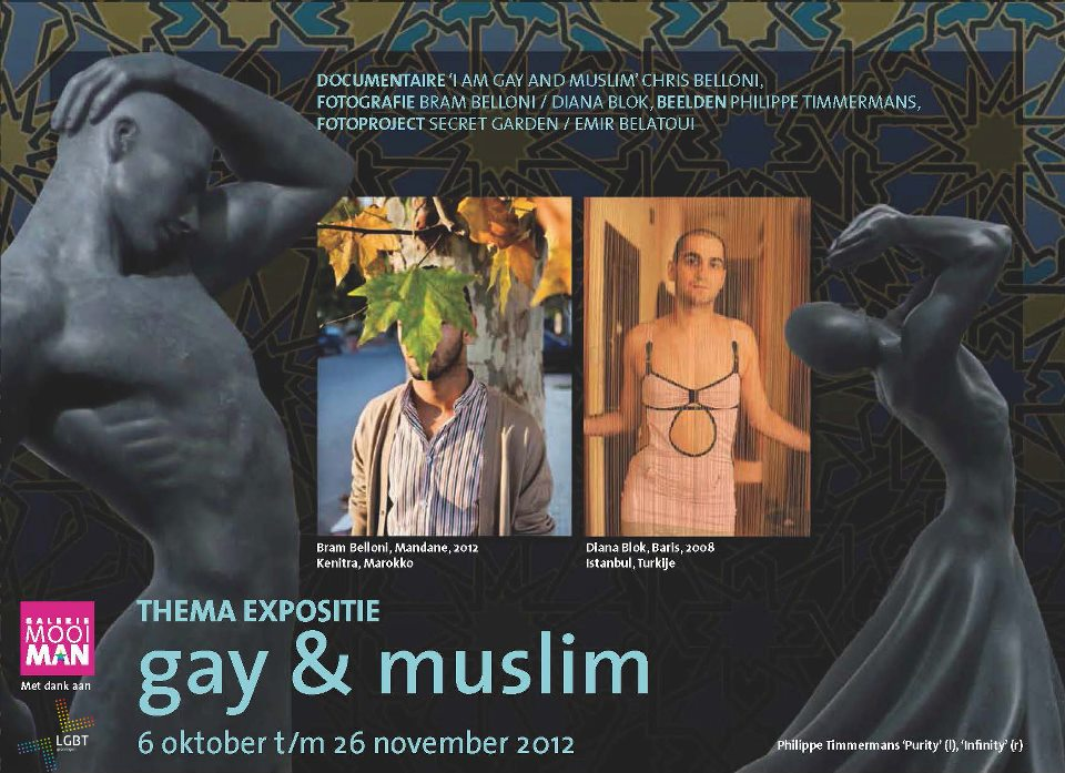 Exhibition Gay & Muslim, Mooiman Gallery. October 6th - November 26th, 2012, Groningen