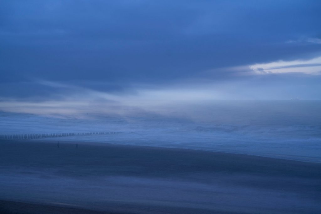 Image of view at North Sea from beach Domburg, Walcheren, by Bram Belloni